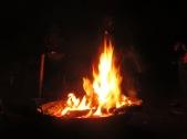 Lagerfeuer genießen